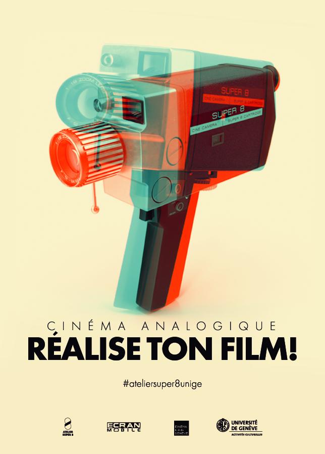 Atelier de cinéma analogiqueLes inscriptions pour l'atelier Super 8, donné en collaboration avec les Activités culturelles de l'Université de Genève, sont ouvertes!